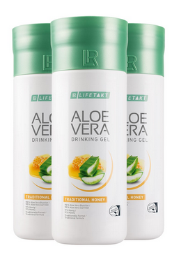 3er Spar Pack - LR Aloe Vera Drinking Gel Honey