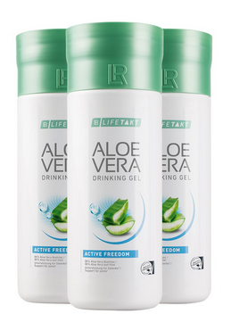 3er Spar Pack - LR Aloe Vera Drinking Gel Freedom